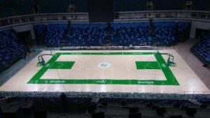 Floors, Food, Coffee, Paper: Greening the Games