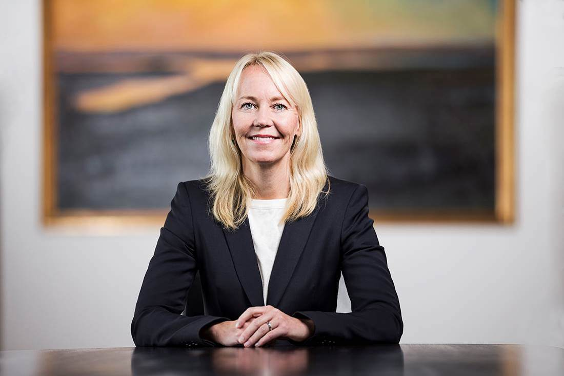 Kathrine Löfberg, chairman and fourth generation owner of Löfbergs