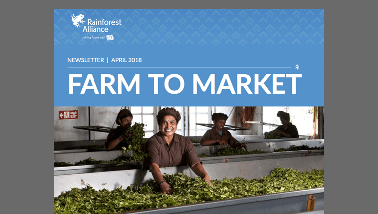 April 2018 issue of Farm to Market Newsletter