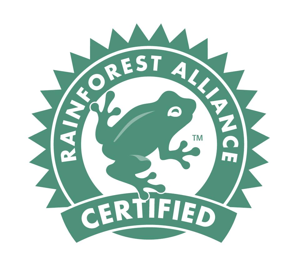 Image result for rainforest alliance seal
