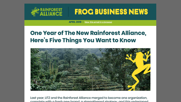 April 2019 issue of Frog Business News