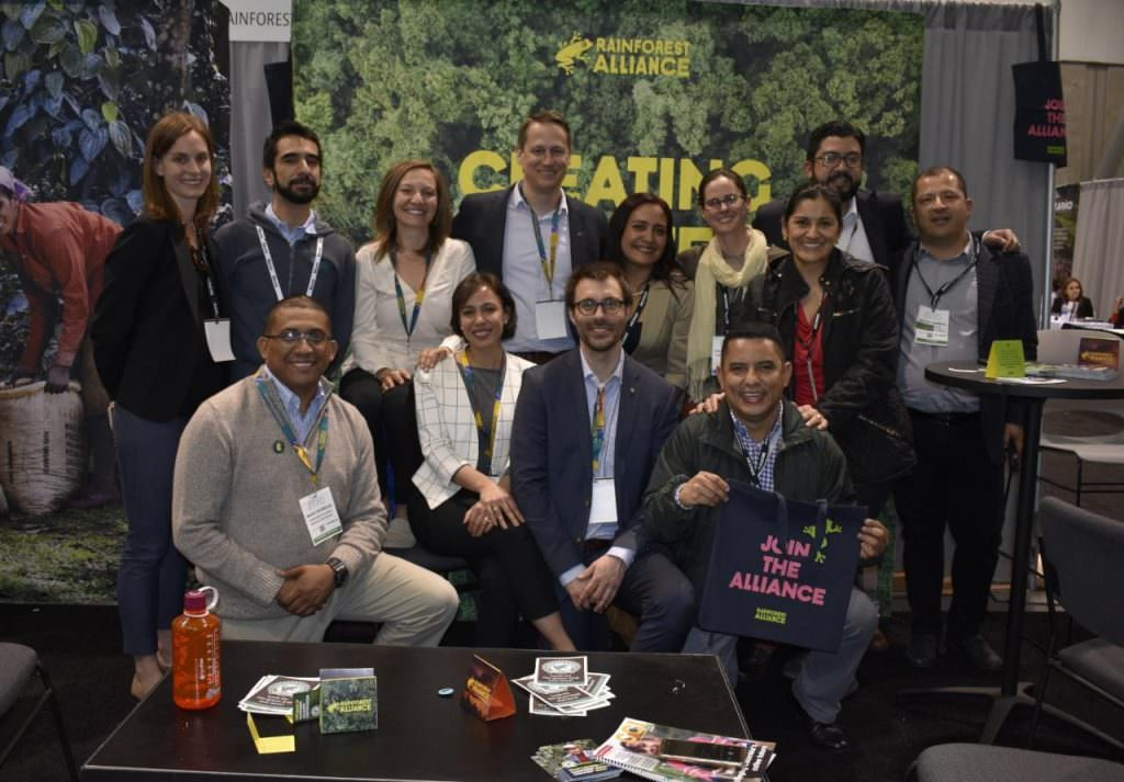 Rainforest Alliance crew at 2019 SCA Boston