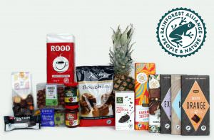 Products with new Rainforest Alliance Certified seal