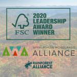 2020 FSC Leadership Award Recognizes Our Work Toward Sustainable Forest Management