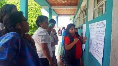 Workshop participants in Verapaces, Guatemala