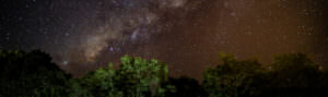 starry night sky - header