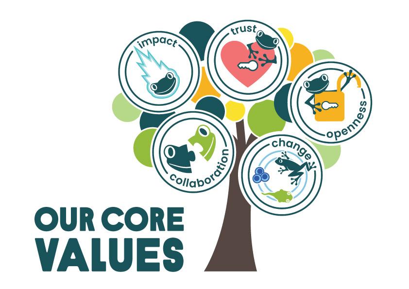 Rainforest Alliance core values