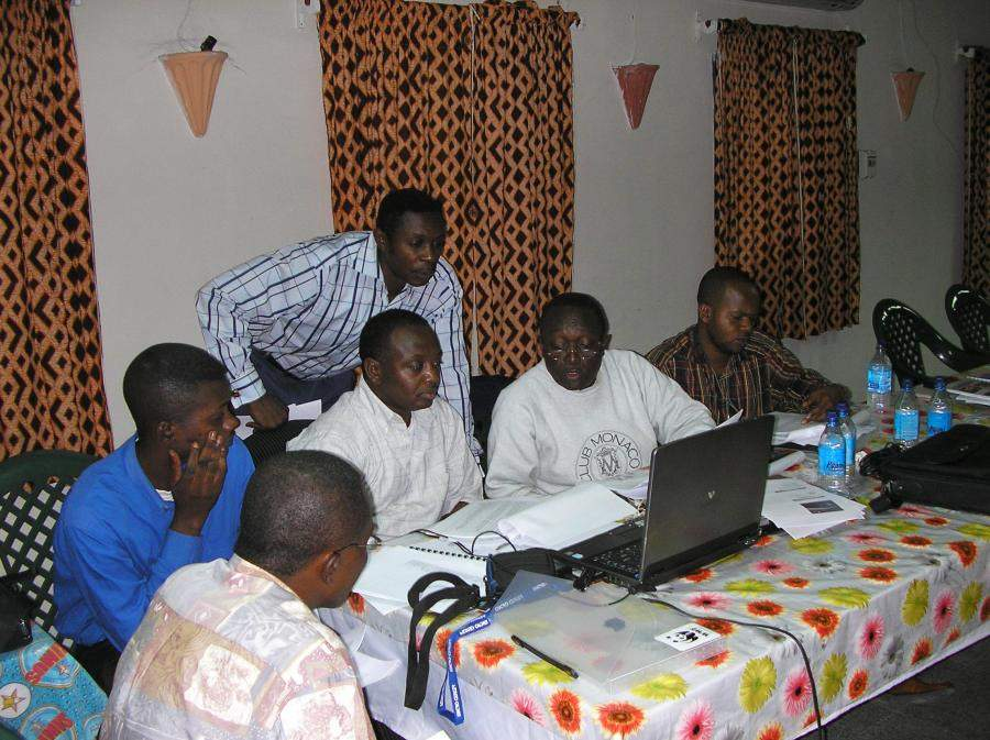 Forestry training in the Democratic Republic of the Congo