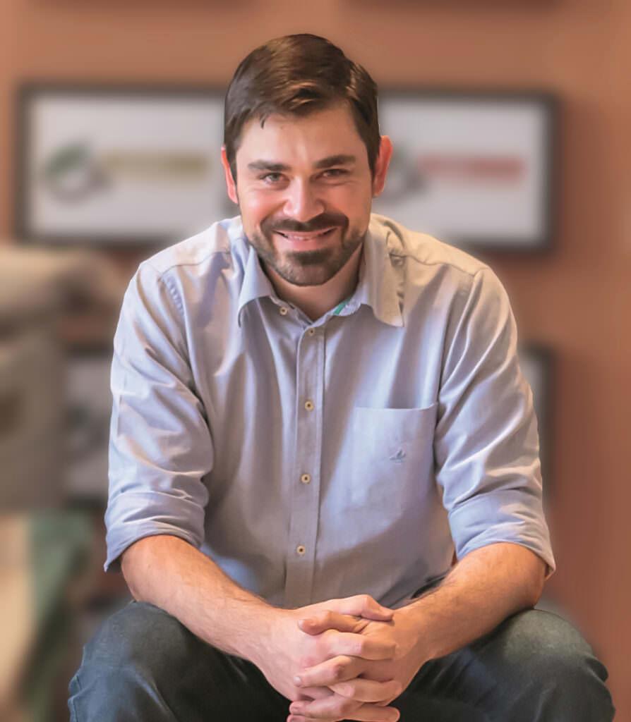 Ubion Terra, diretor da O'Coffee, fazenda certificada Rainforest Alliance